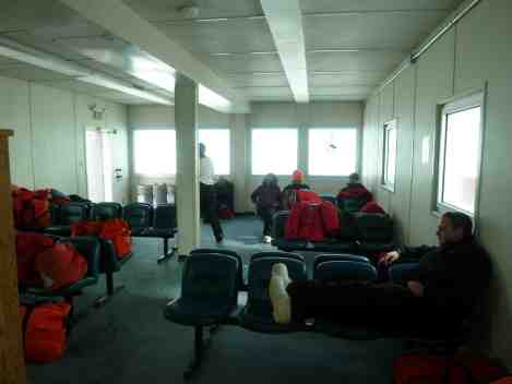 The Departure Lounge at Pegasus skiway