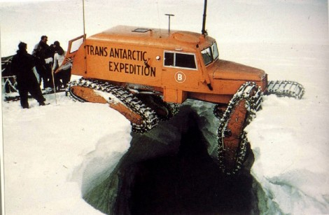A Sno Cat in Antarctica